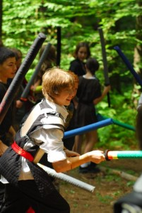 Larp Kids Battle