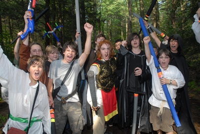 How Do LARP-based Summer Camps Help Kids Learn to Play?