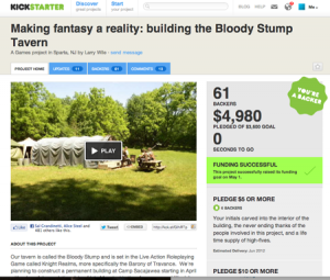 Bloody Stump Kickstarter