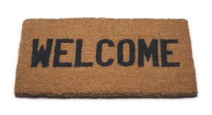larp welcome mat