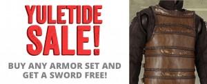 larp armor sale