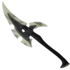 Dark Elven War Larp Axe
