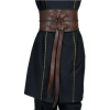 thick leather belt