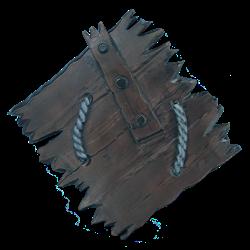 Wooden Ork Shield