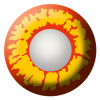Magic Red & Yellow Contact Lenses