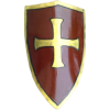 Crusaders Shield (Red/Gold)