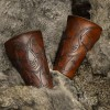 larp leather bracers