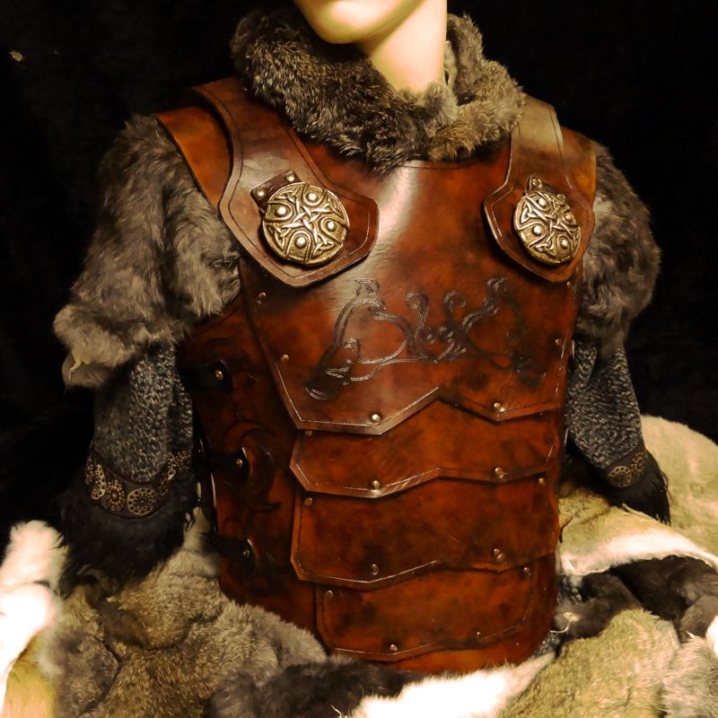 larp leather armor