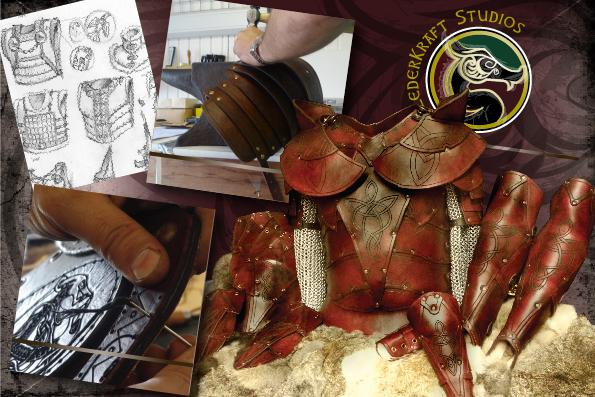 Lederkraft Leather Armor larp