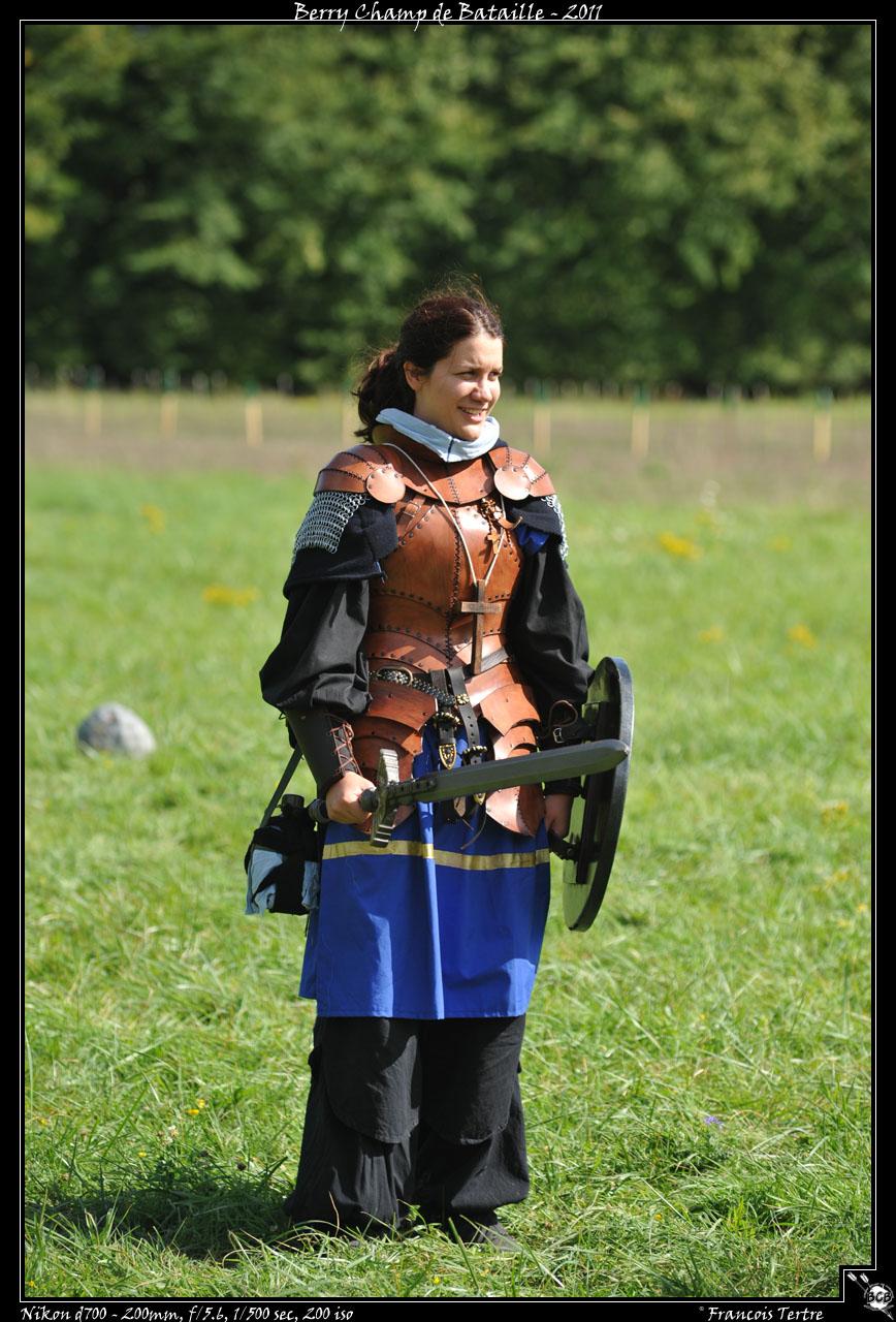Larp Girl Armor