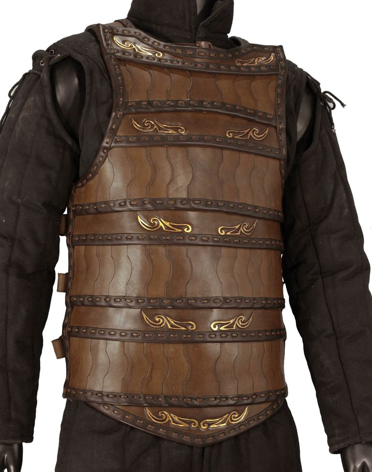 Celtic Lamellar Leather Armor