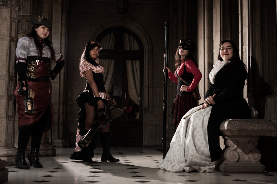 steam punk girls