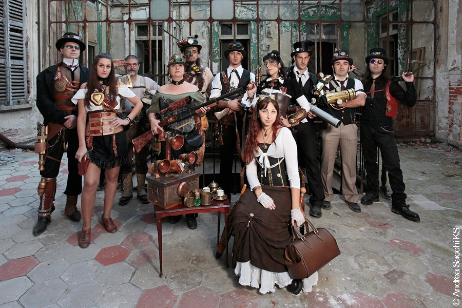 steam punk group
