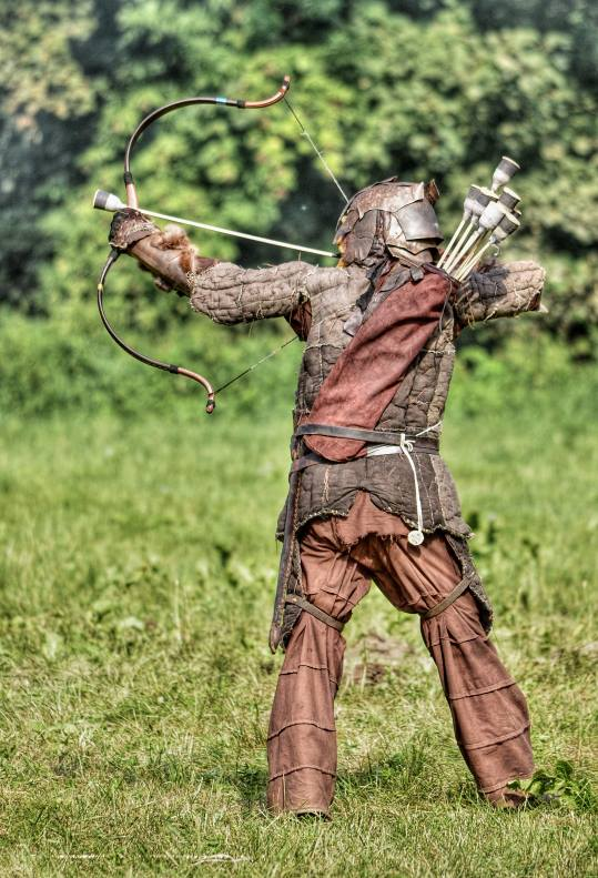 Archer With Fur And Worn Gambeson Larping Org