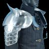 Metal Pauldrons with sword breakers
