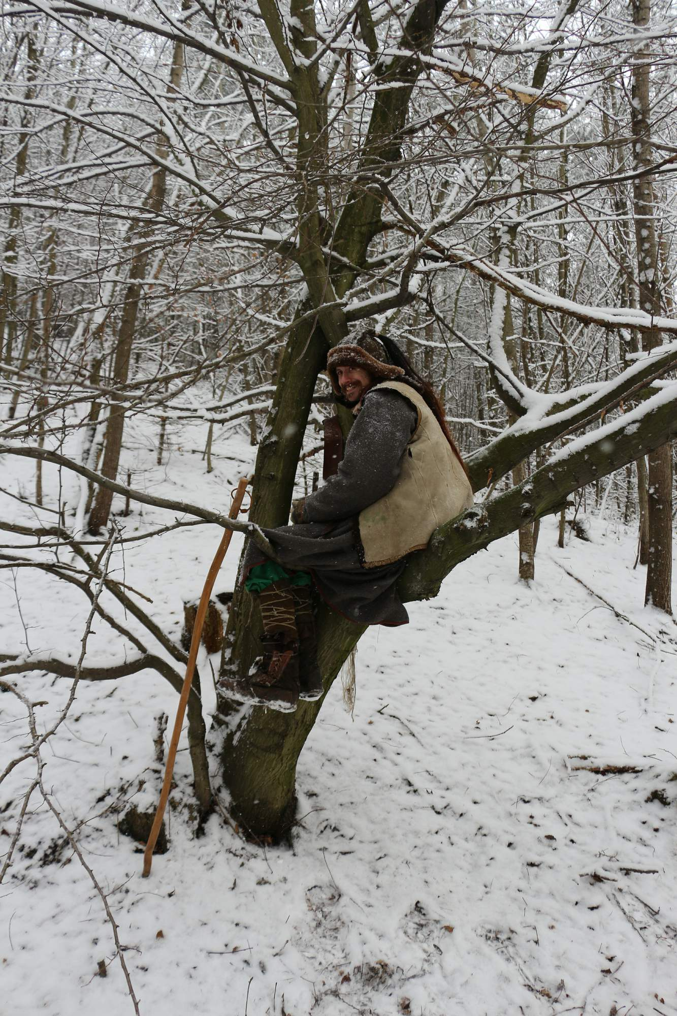 Snow Larping