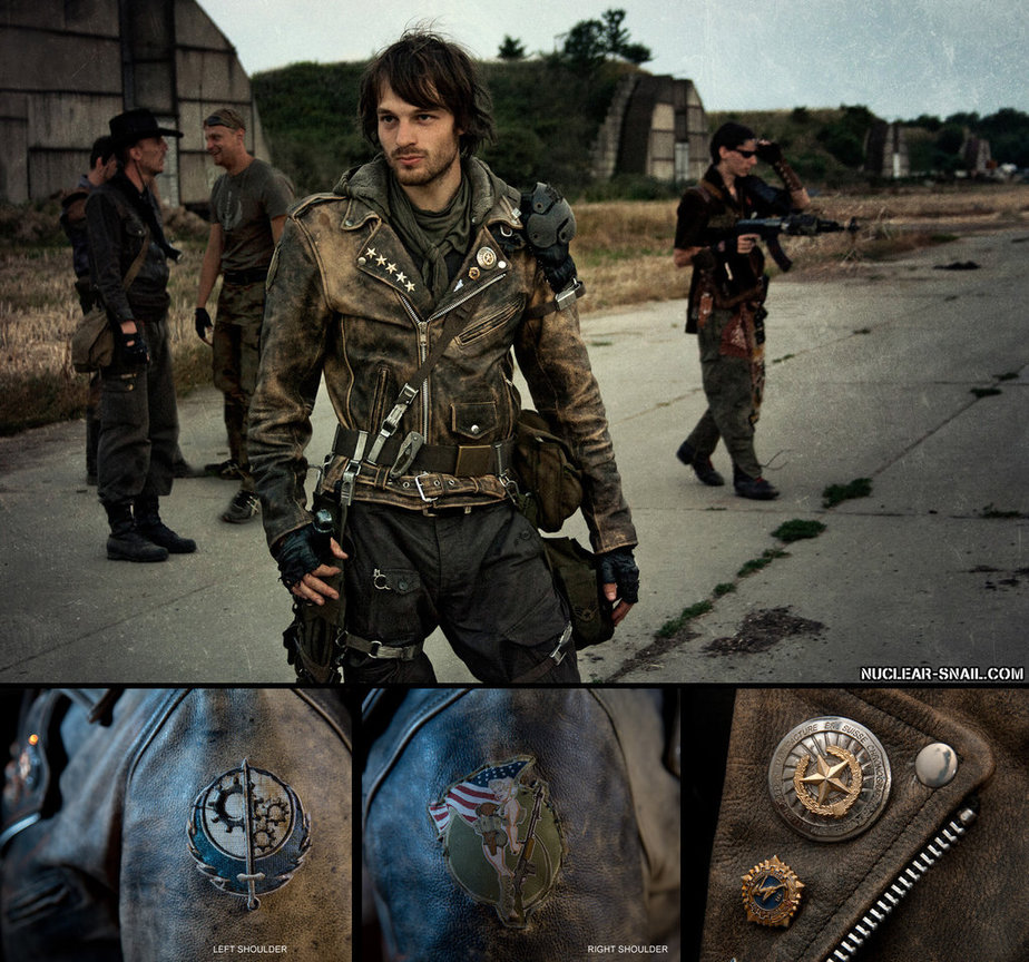 Post Apocalyptic Costumes with Nuclear Snail | LARPING.ORG