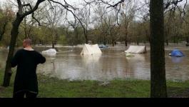 The Ent Floods the village