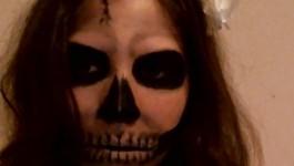 Skeleton Makeup Tutorial 2