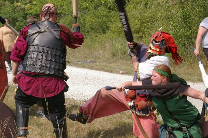 Dagorhir Rear Attack