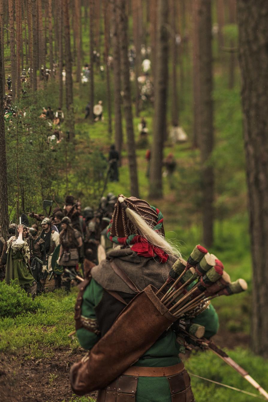 The Battle Of Five Armies Larp Archer