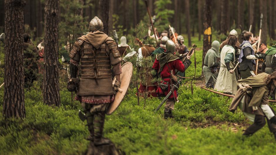 The Battle Of Five Armies Larp - Fight