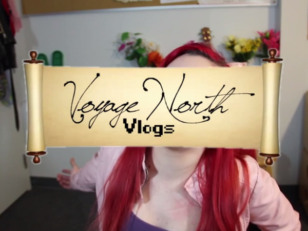The Voyage North Vlogs #1: Momo O'brien gets the hype train rolling!