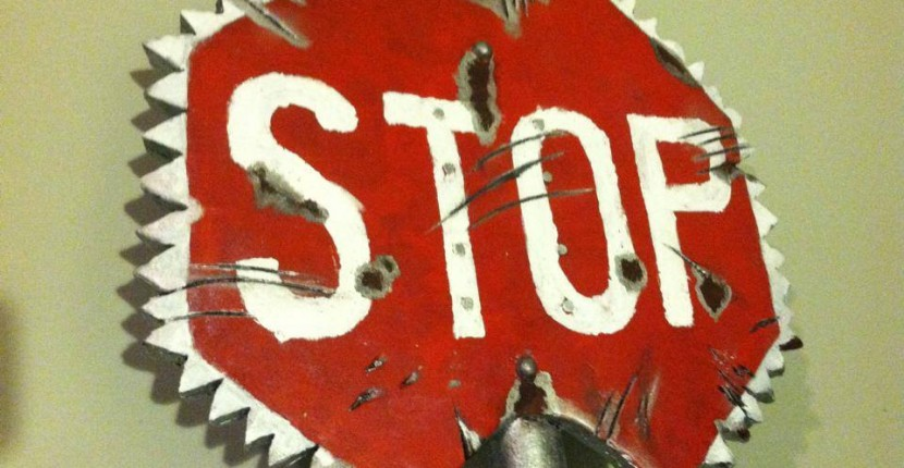 Stop Sign Ax