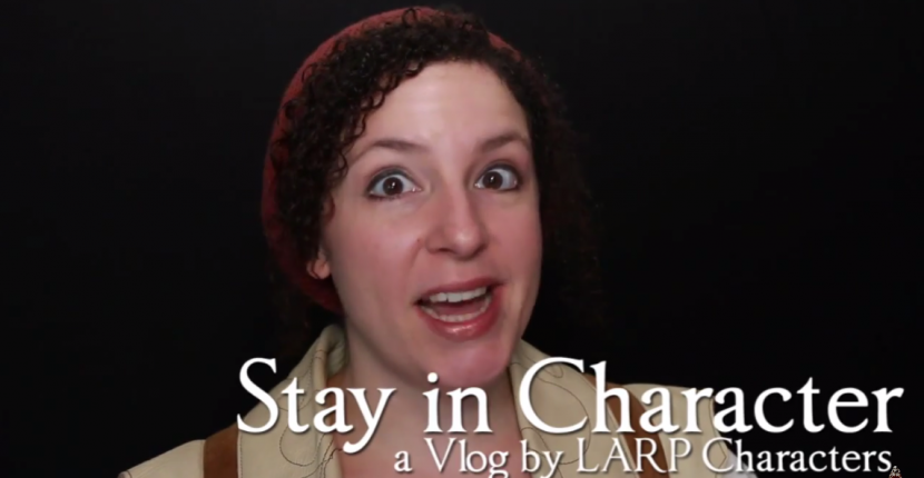 stay in character