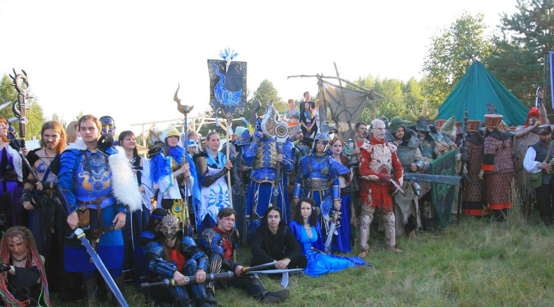 One Minute Forty Seconds of First Person Warhammer Larp Action!