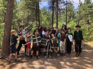 Explorers LARPing Creativity Club