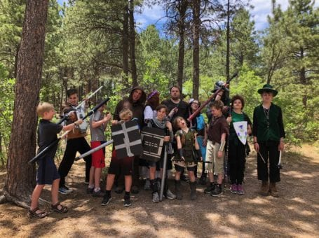 Explorers LARPing Creativity Club