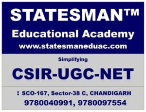 Statesman Academy – Csir Net Life Science Coaching Chandigarh