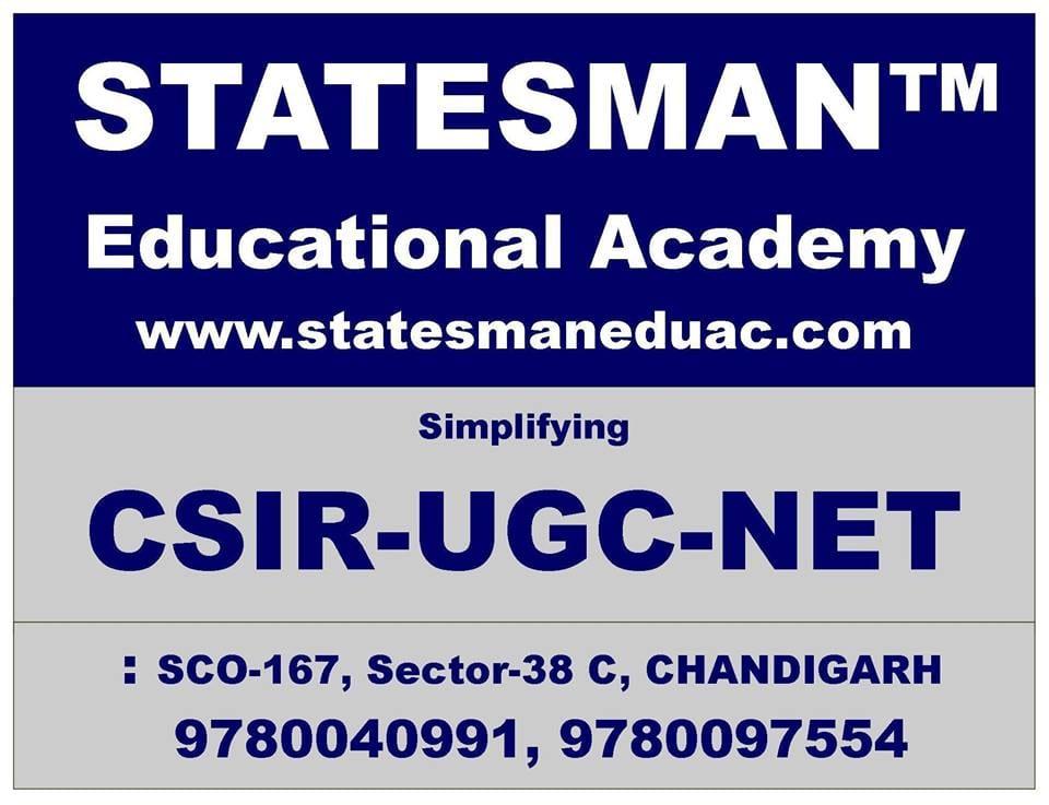 Statesman Academy - Csir Net Life Science Coaching Chandigarh
