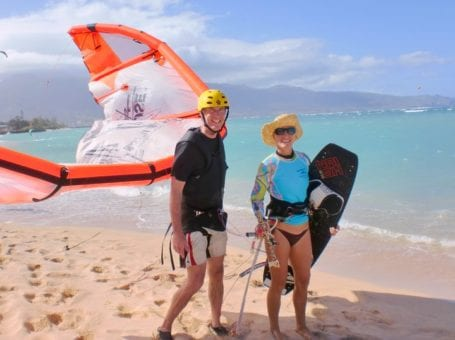 Maui Kiteboarding Lessons by Aqua Sports Maui