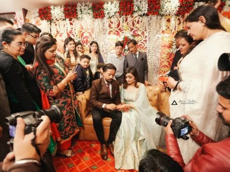 Aman Sidhu Best Candid Wedding Photographer In Chandigarh
