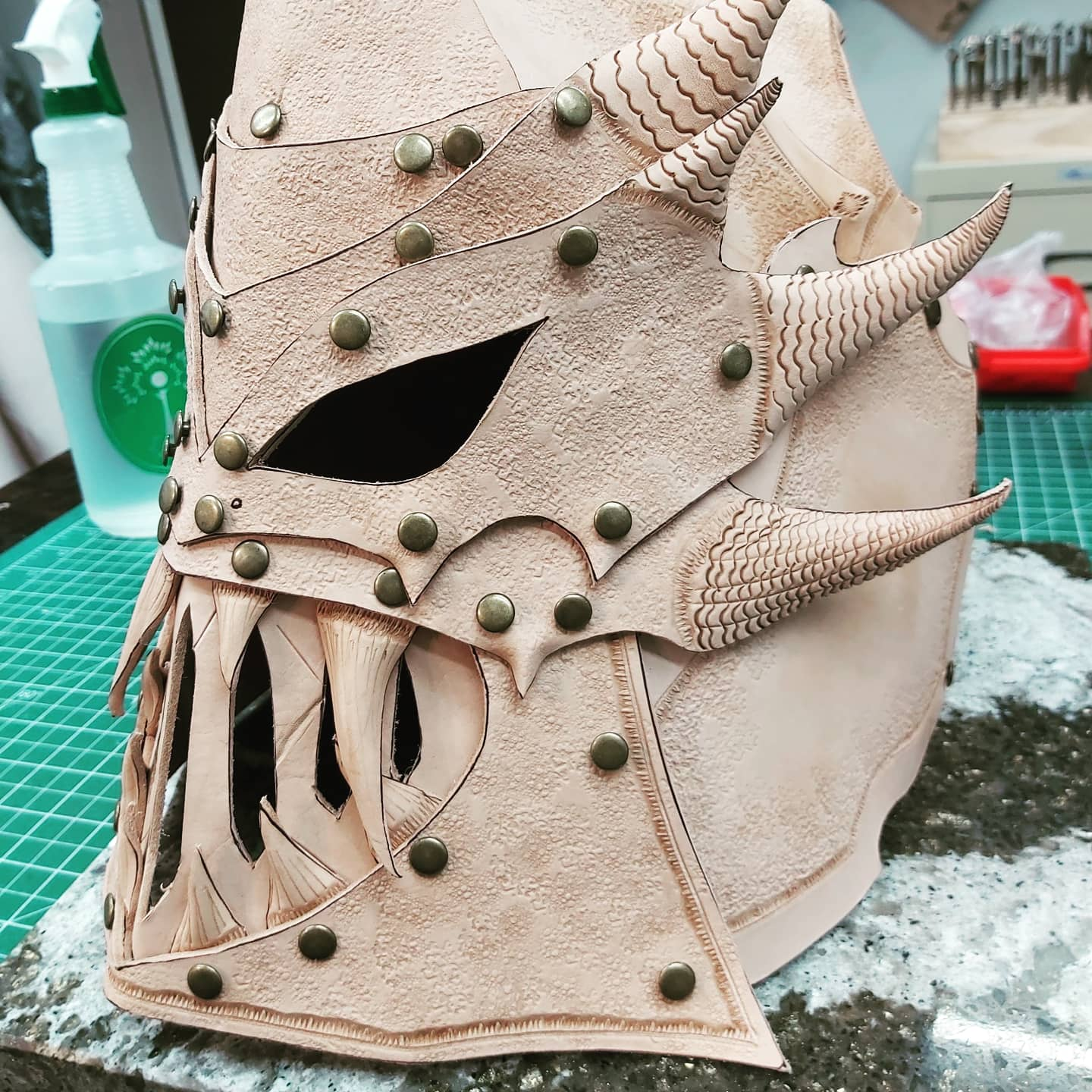 WIP Wednesday: Larp Gear, Masks & a Quiver!